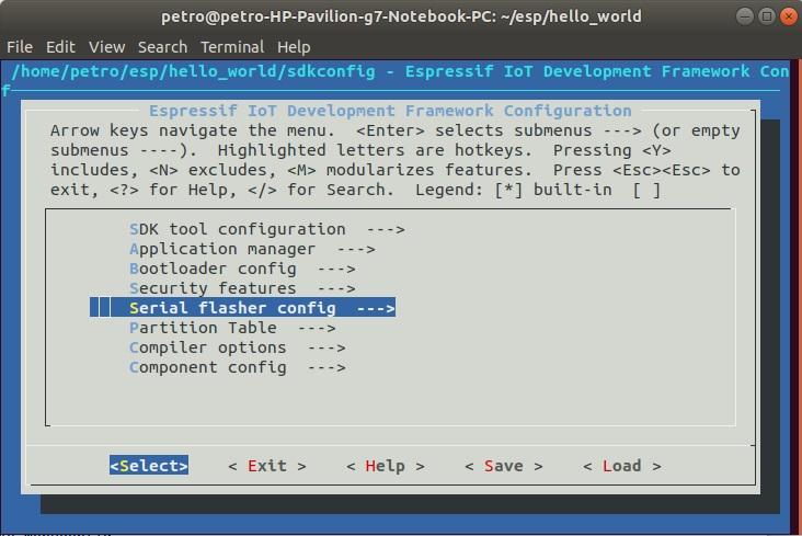 Программирование ESP32 на языке C в SDK от Espressif